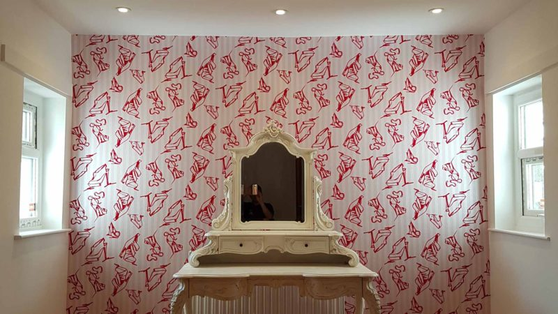 Verselec Builders Liverpool - Bedroom Conversion - Dressing Room