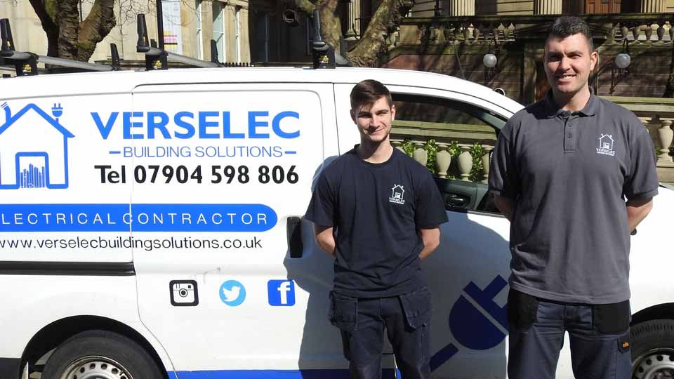 Verselec Electricians Liverpool - About us - Electrical Rewires - Rewiring