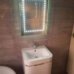 Verselec Plumbers Liverpool - Bathroom Refurbishment - Bathroom Lighting