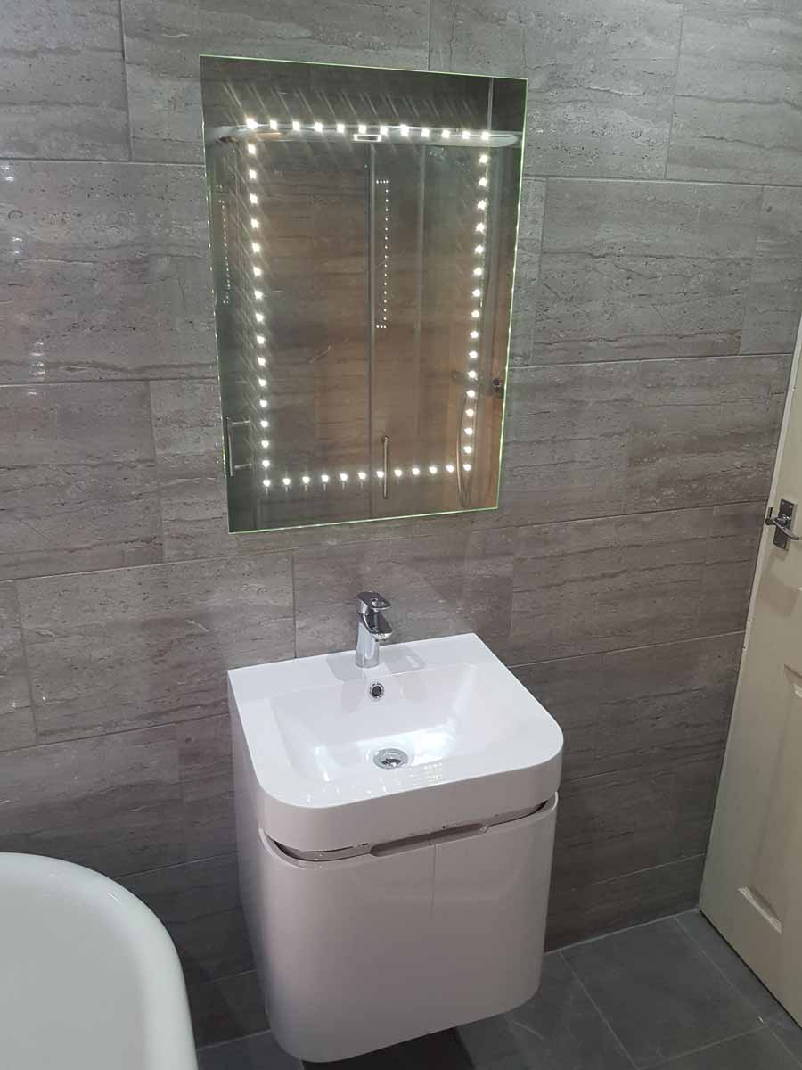 Verselec - Plumbers Liverpool - Bathroom Refurbishment Garston, L19 - Bathroom Lights