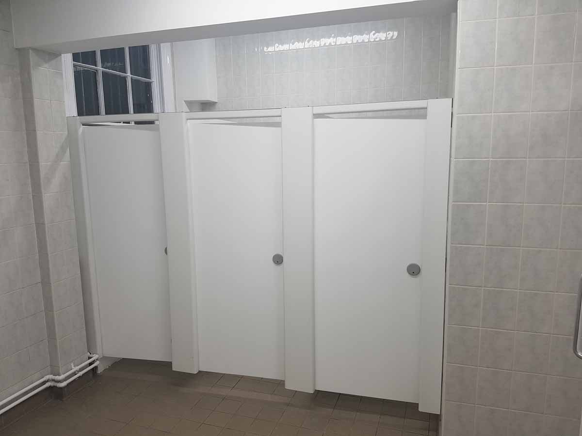 Verselec - Plumbers Liverpool - Woolton Golf Club - Changing Room Refurbishment